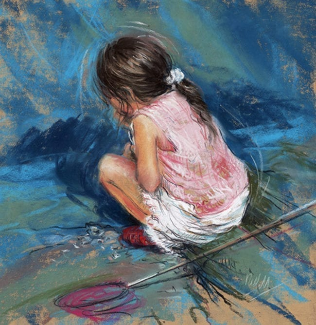 Little Fisher Girl, SOLD