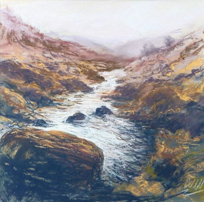 Moorland Stream, SOLD