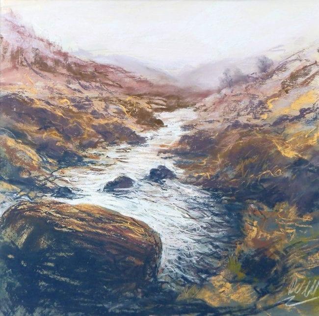 Moorland Stream, SOLD