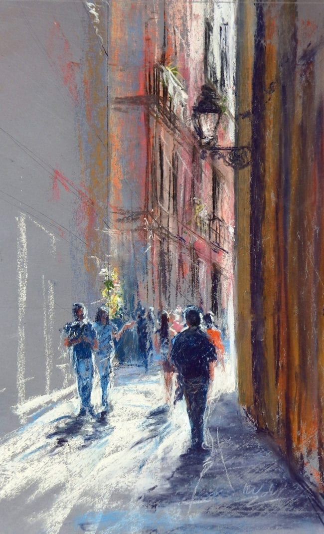 Strolling Through Barcelona
