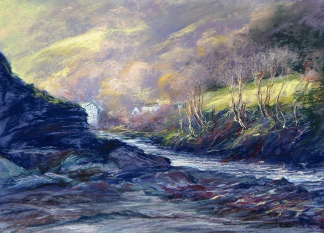 The Light in the Coombe, SOLD