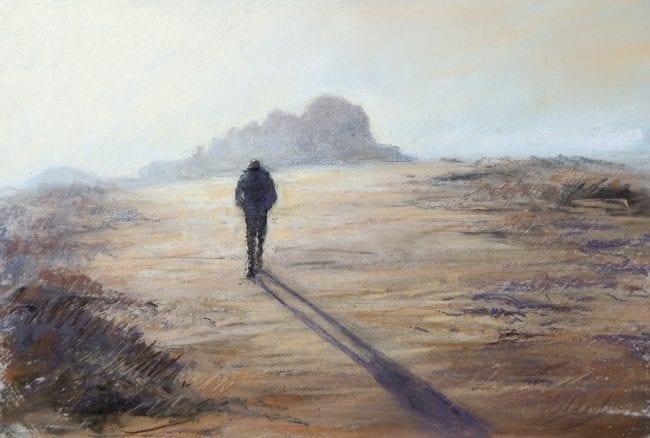 An Evening Stroll, £325