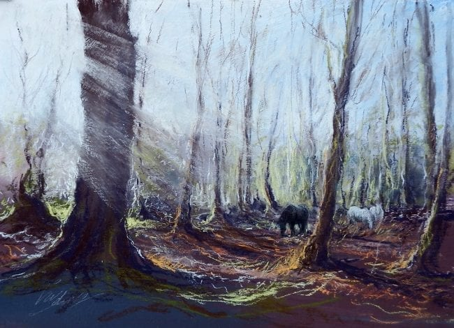 Ponies in the Woods, £395