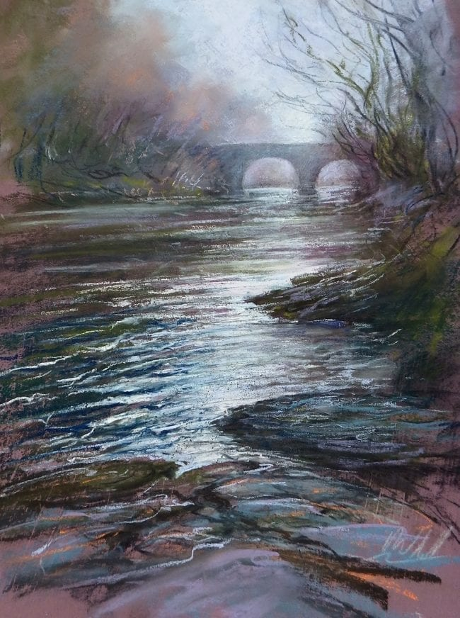 The River Dart, mounted £145
