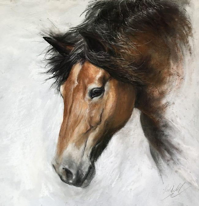 Pony sketch 1, SOLD