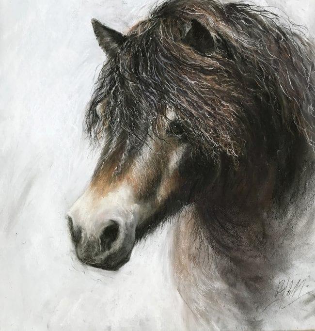 Pony sketch 3, £195